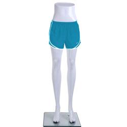 Ladies Standing Mannequin Legs Display - Gloss White