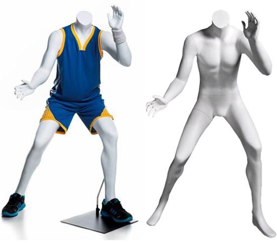 Child Sport Mannequin - Basketball Defense Pose