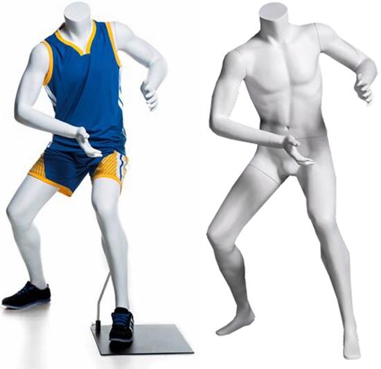 Child Sport Mannequin - Basketball Offense Pose