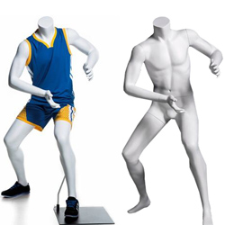 Child Sport Mannequin - Basketball Offense Pose