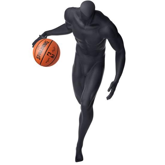 Headless Basketball Player Mannequin Dribbling
