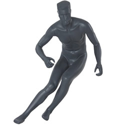 Athletic Male Mannequin- Action Skating Pose