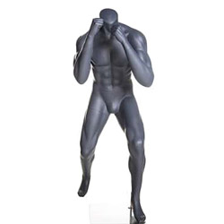 MMA Boxing Fighter Mannequin with Fists Up