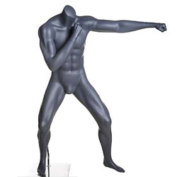 MMA Boxing Fighter Mannequin Throwing Jab Punch