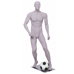 Soccer Mannequin Dribbling Ball Pose