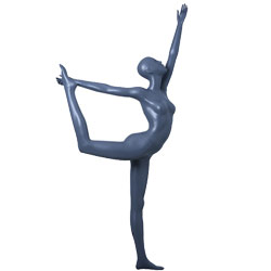 Yoga Mannequin in a King Dancer Pose